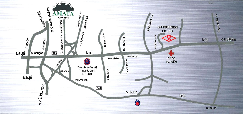 Map S.K PRECISION